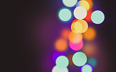 Bokeh colorful dot background