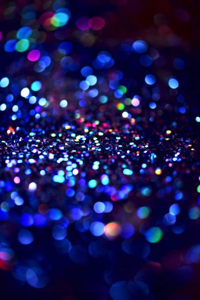 bokeh colorfull sfondo astratto sfocato - immerse in the stars foto e immagini stock