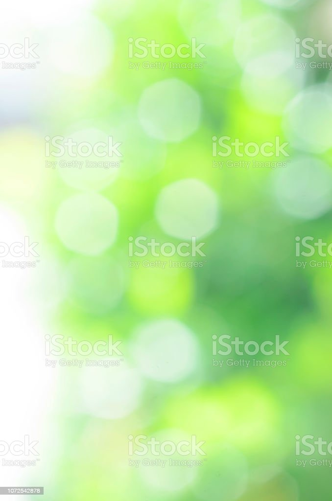 Bokeh flare lights green color abstract backgrounds texture