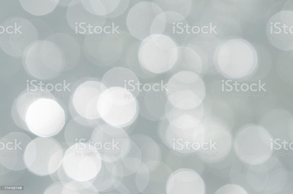 Bokeh in grey royalty-free stock photo