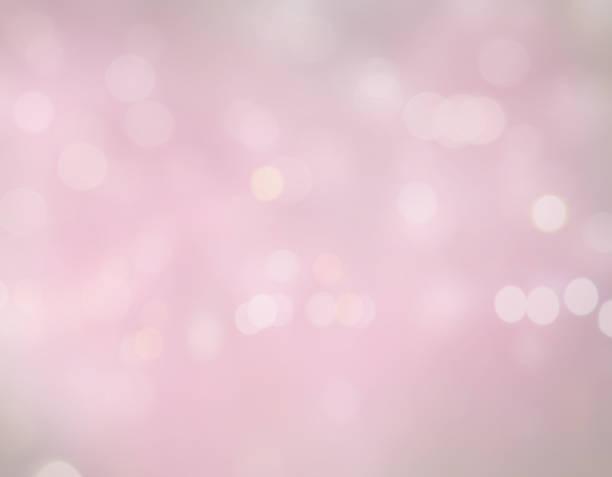 Bokeh in pink stock photo