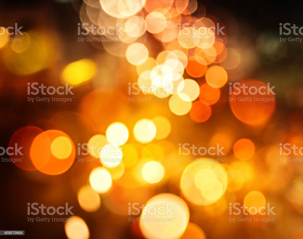 Bokeh light christmas background stock photo