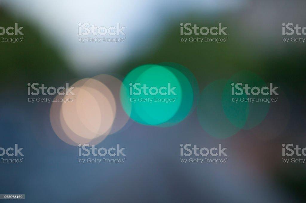 Bokeh light circles zbiór zdjęć royalty-free