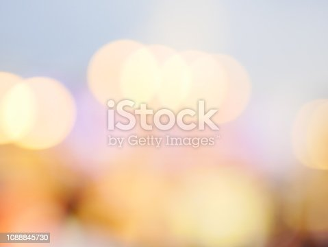 istock Bokeh light pattern in the city, defocused 1088845730