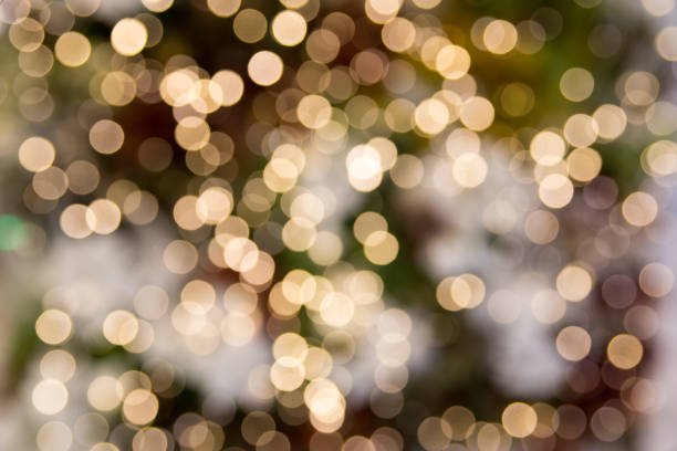 Bokeh Lights Abstract Background stock photo