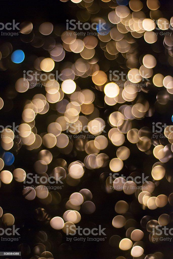 Bokeh lights backgroud stock photo