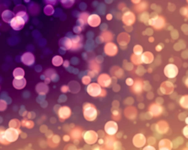 bokeh lights background - light effect stock photos and pictures