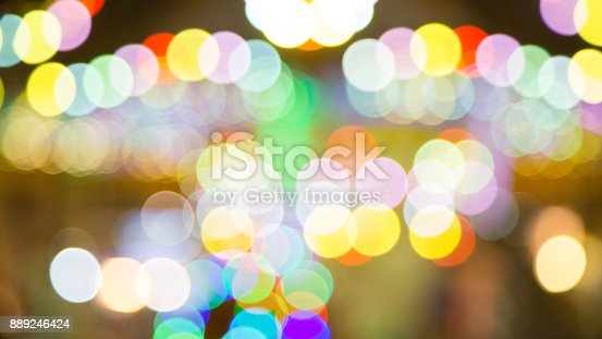 istock Bokeh Lights background 889246424