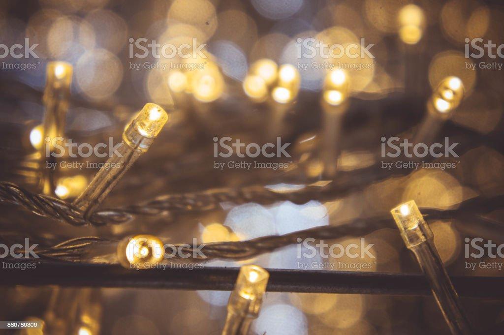 Petite Veilleuse À Pour Bokeh Photo De Led Avec Lampe Libre Droit WDI29EH