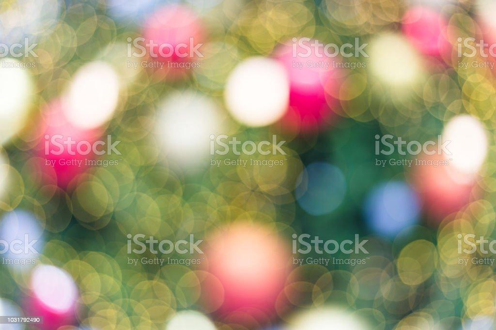Bokeh von hellem Hintergrund – Foto