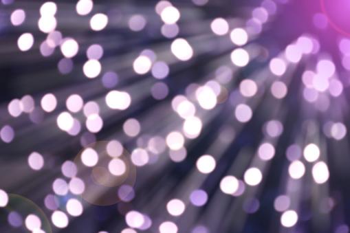 Bokeh Van Licht Violet Kleur Met Flare En Vervagen Verplaatsen Stockfoto en meer beelden van Abstract