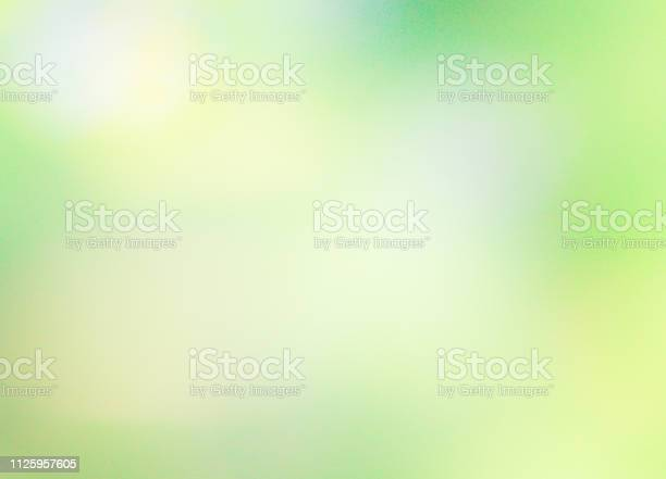 Photo of Bokeh of nature background .Abstract green defocused background - Nature