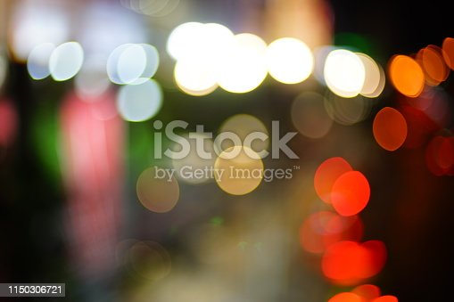 istock Bokeh on black background 1150306721