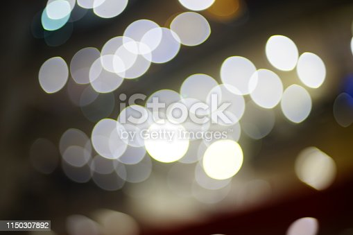 istock Bokeh on black background 1150307892