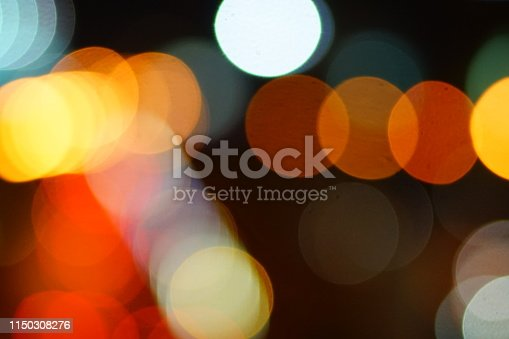 istock Bokeh on black background 1150308276
