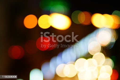 istock Bokeh on black background 1150308306