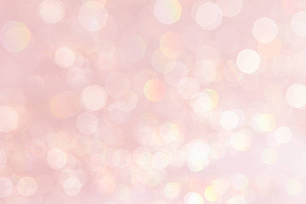 bokeh soft pastel pink background. - rose quartz stock photos and pictures