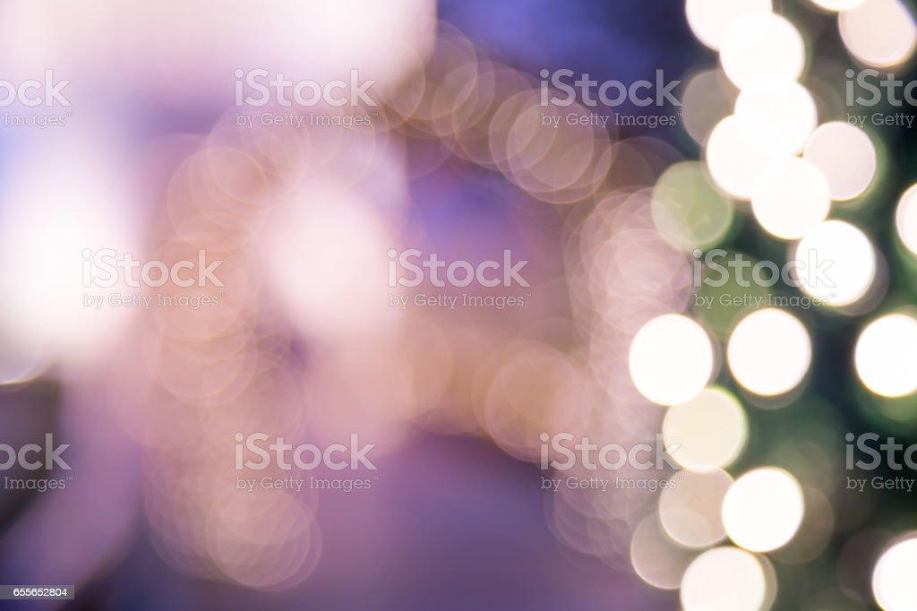 Bokeh wedding garden light background stock photo