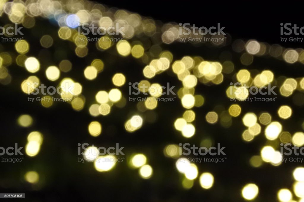 Bokeh-Blurry light abstract background. stock photo