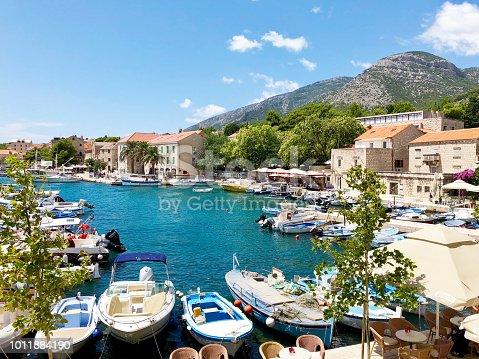 A town on the Croatian island of Brač