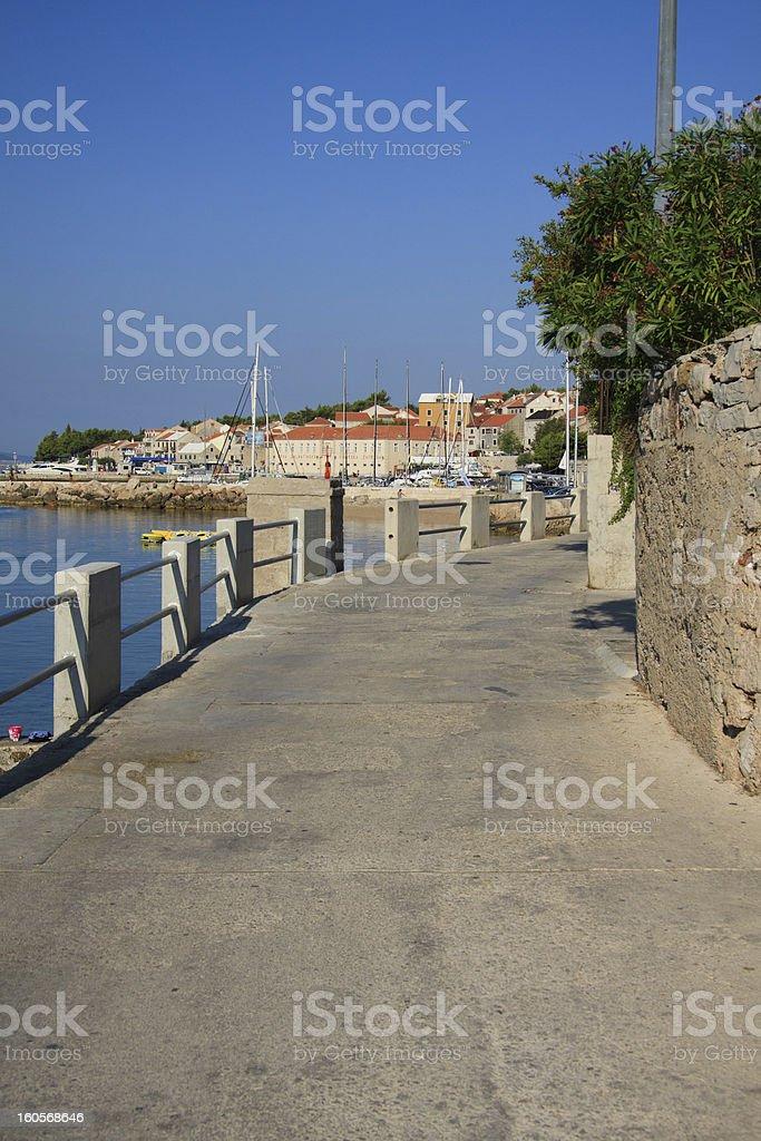 Bol, island of Brac royalty-free stock photo