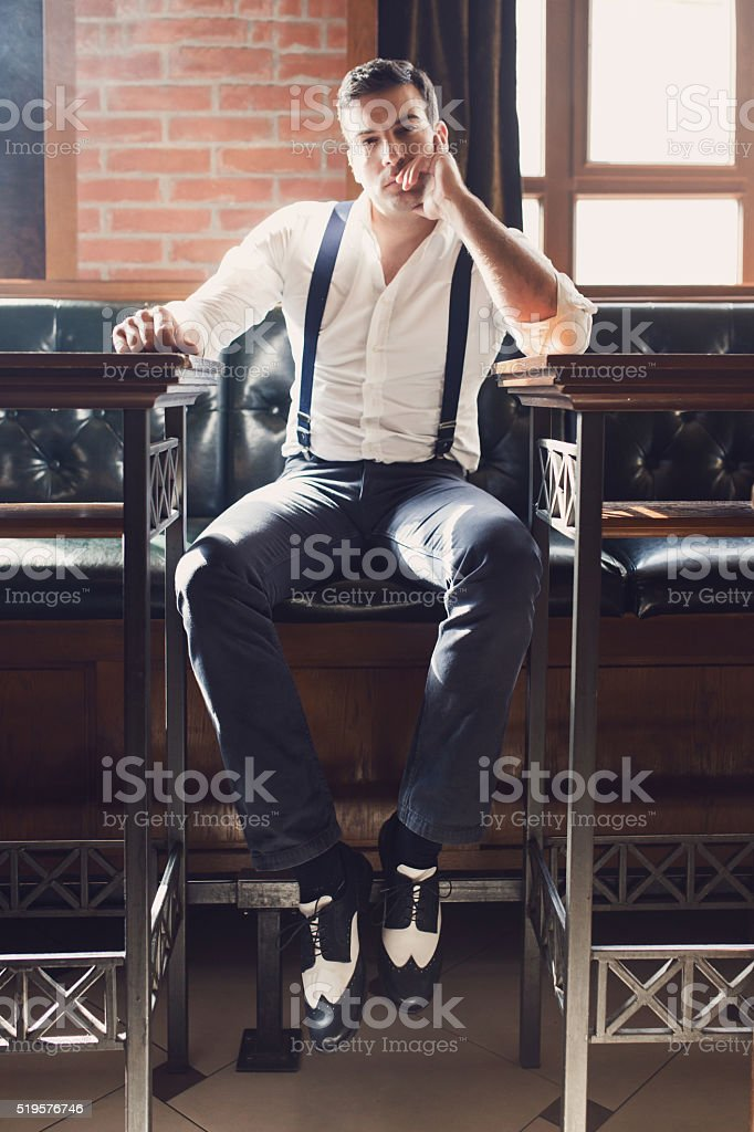 Bold And Handsome stock photo