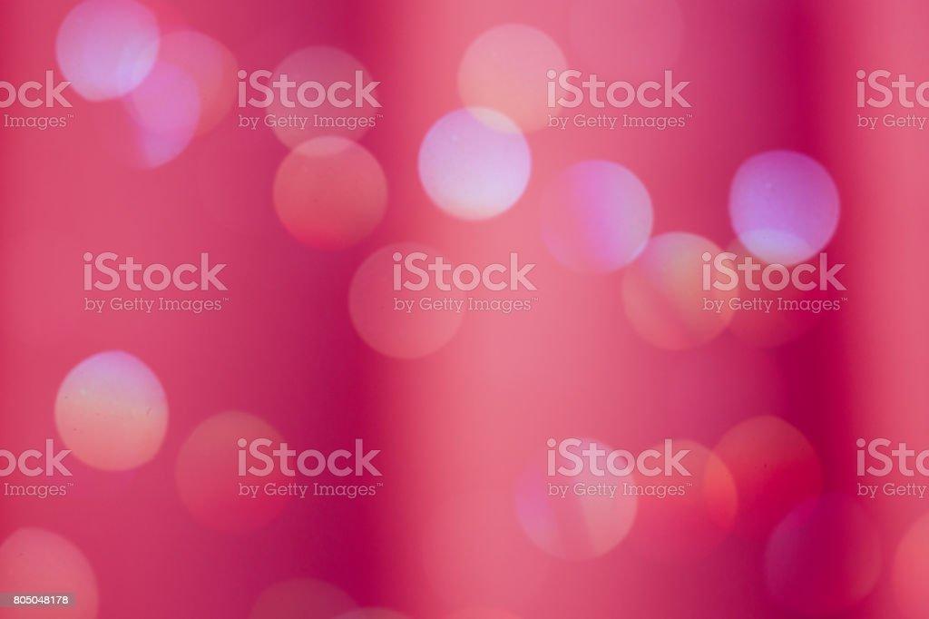 Bold Red Color Defocused Background Light Bokeh stock photo