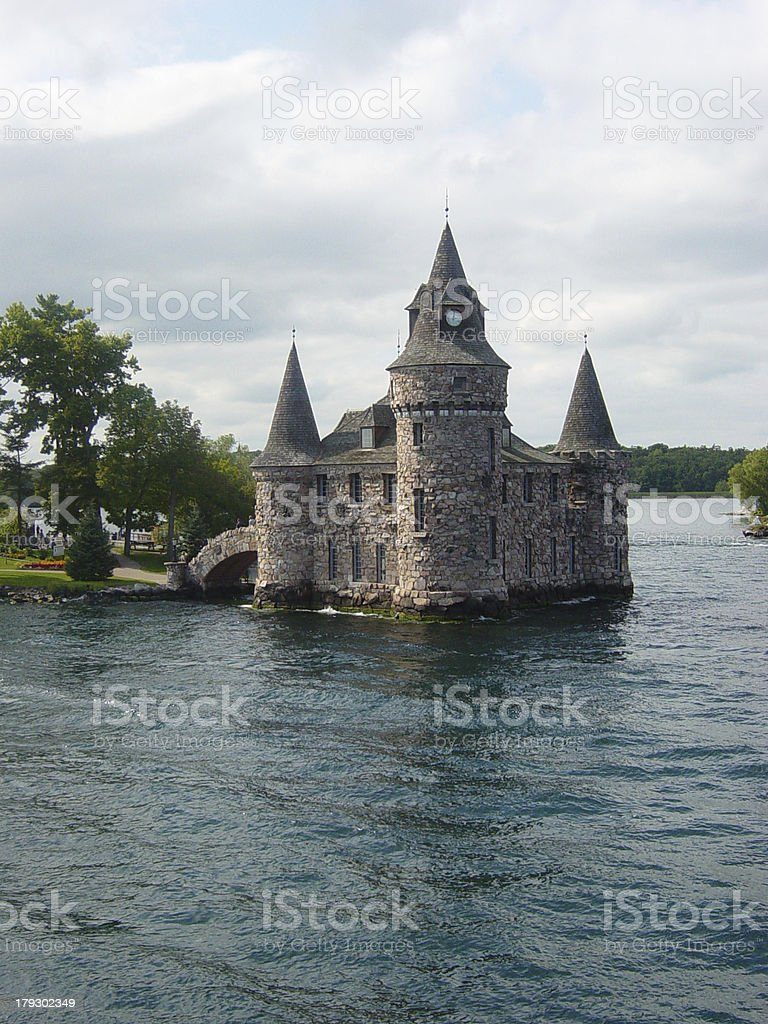 Boldt Castle 1 stock photo