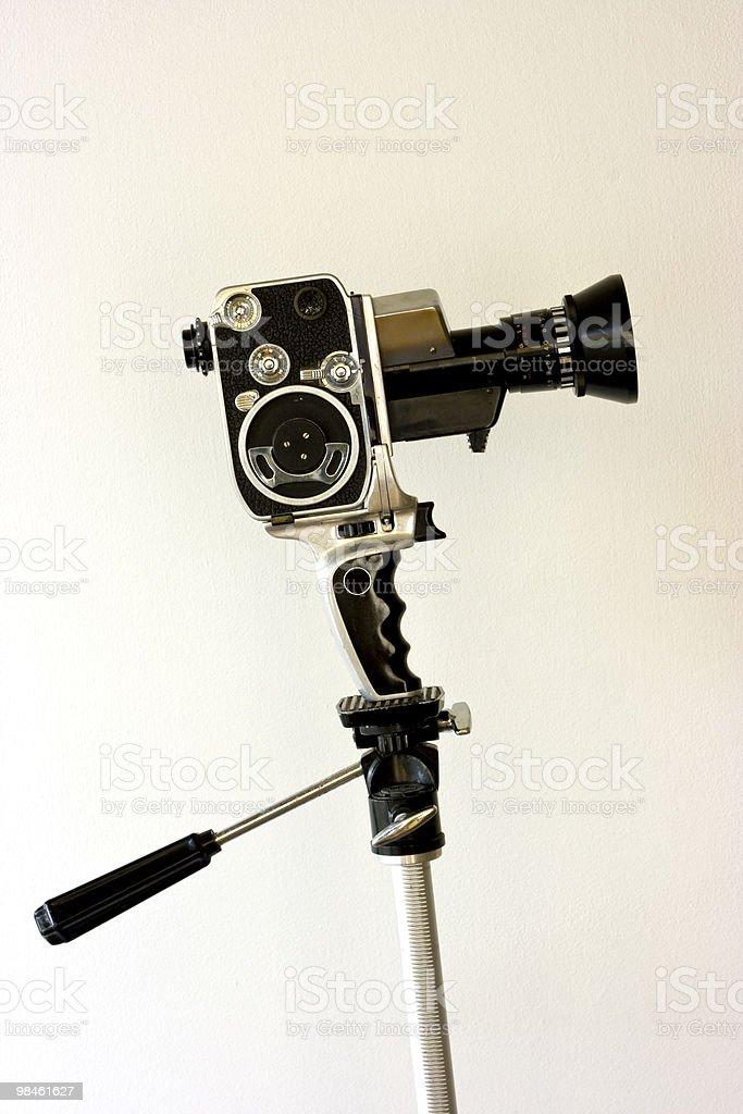 Bolex movie camera - Retro royalty-free stock photo