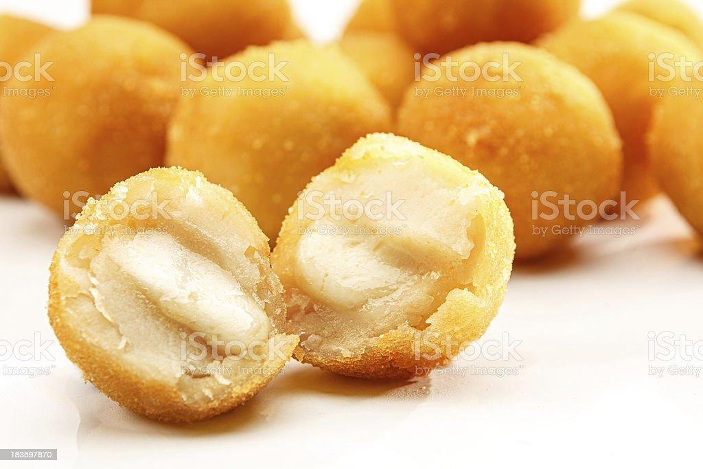 Bolinha de queijo. - foto de acervo