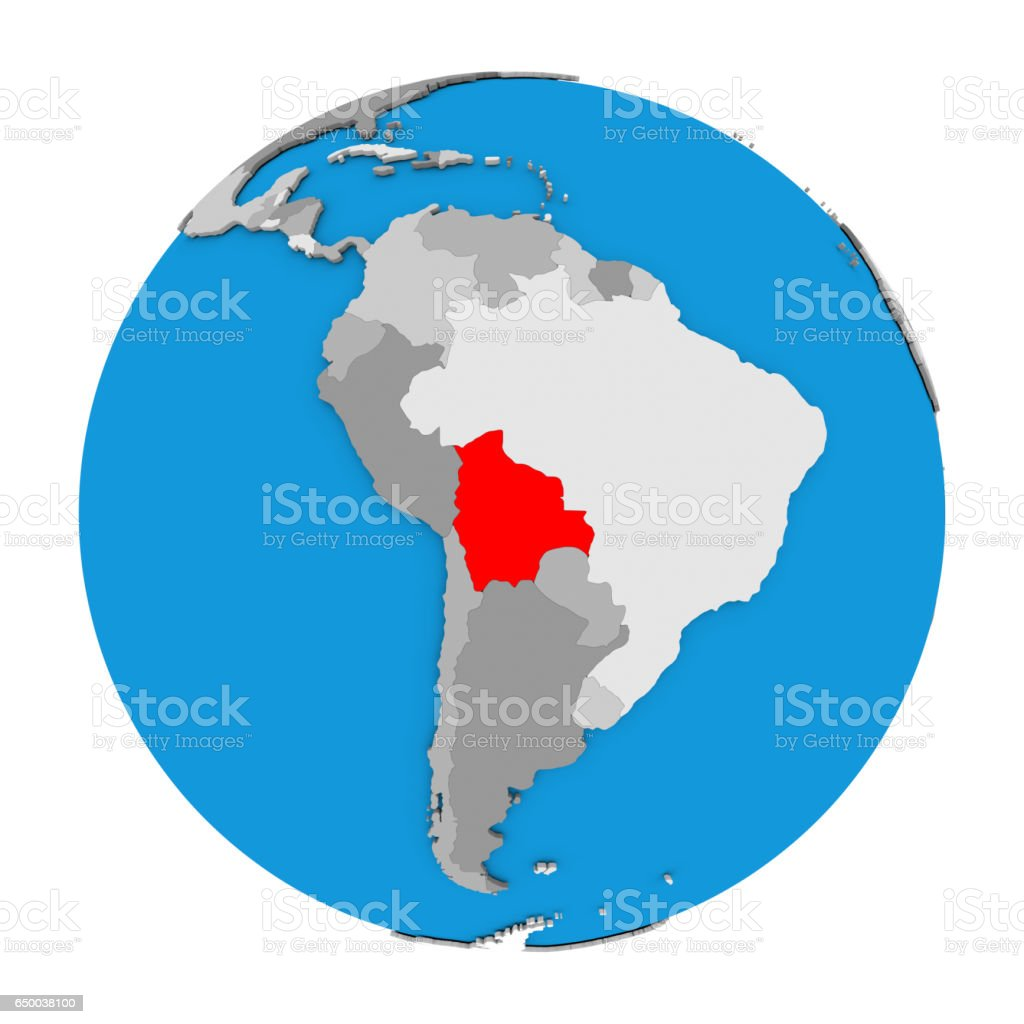 Picture of: Bolivia On Globe Stock Photo Download Image Now Istock