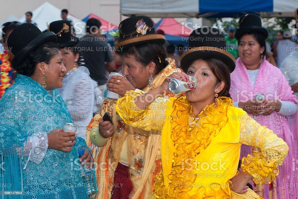 Bolivian Carnival stock photo