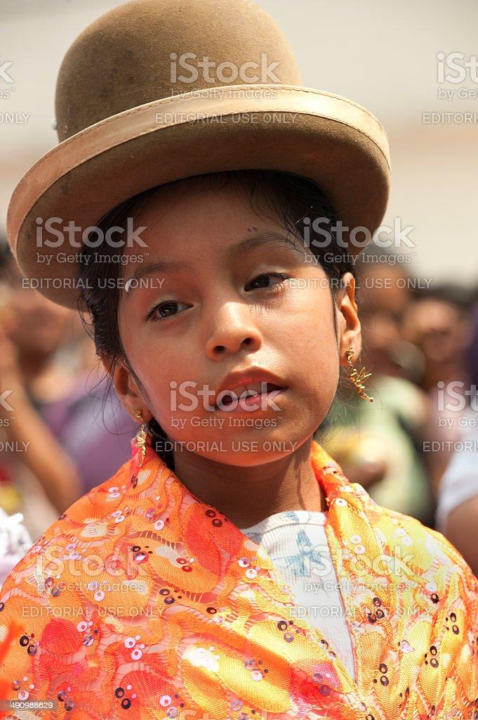 Bolivian Children royalty-free stock photo