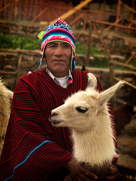 Bolivianische Farmer – Foto
