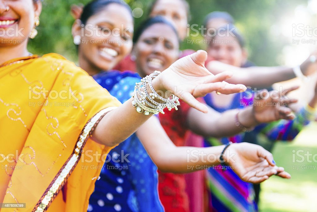 Bollywood Belly Dance stock photo