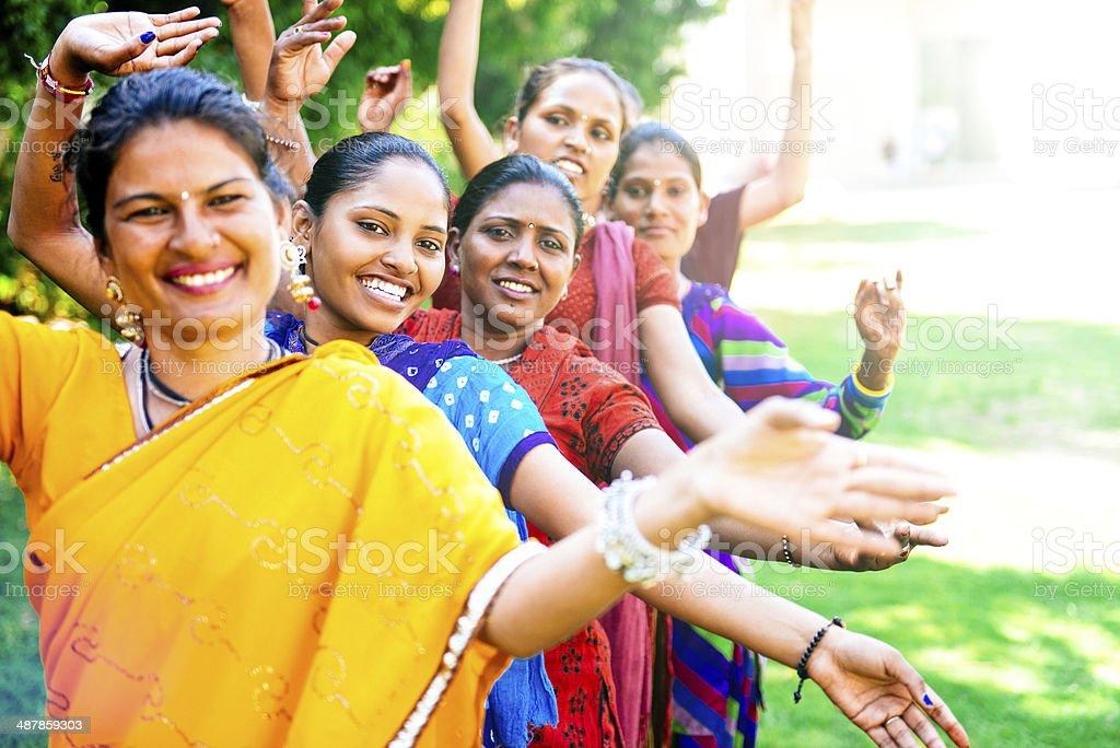 Bollywood Dance stock photo