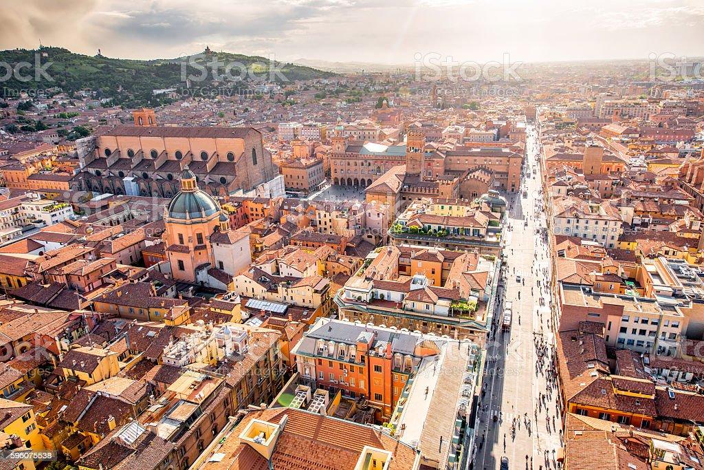 Bologna cityscape view – Foto