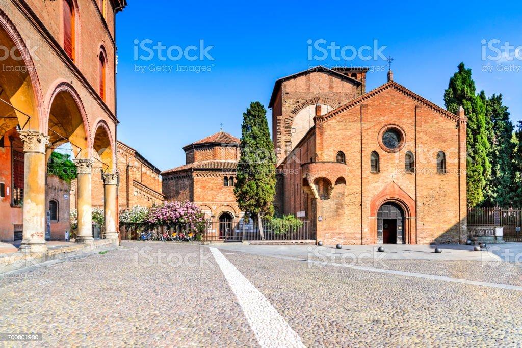 Bologna, Emilia-Romagna - Italien, Basilika Santo Stefano – Foto