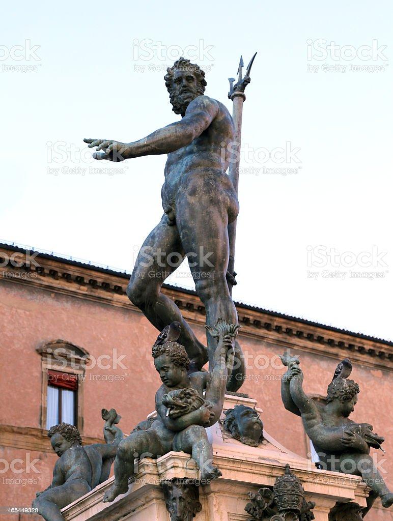 Statue mit groГџem Penis