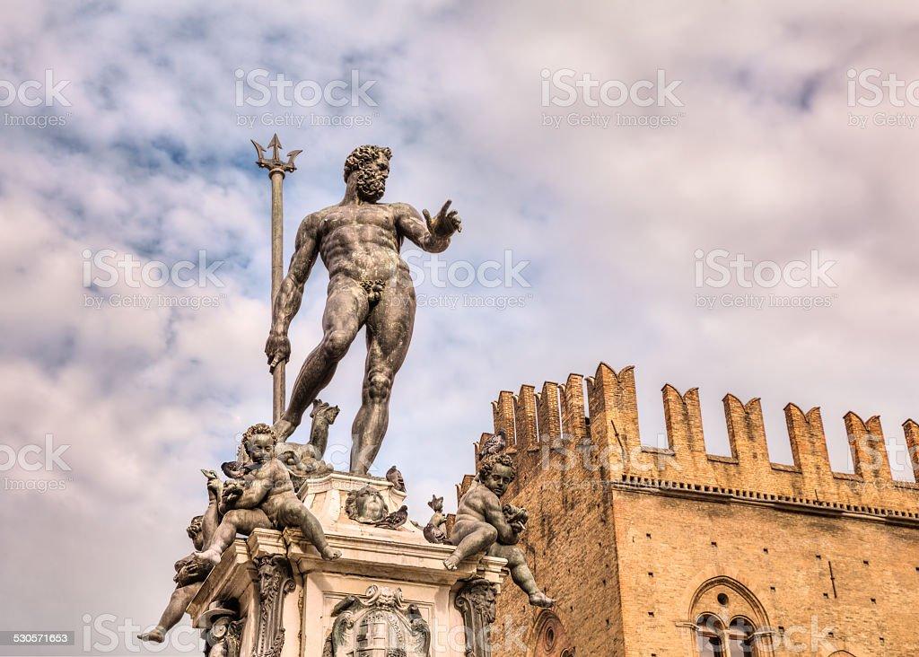 Neptune fountain stock photo. Image of myth, italy