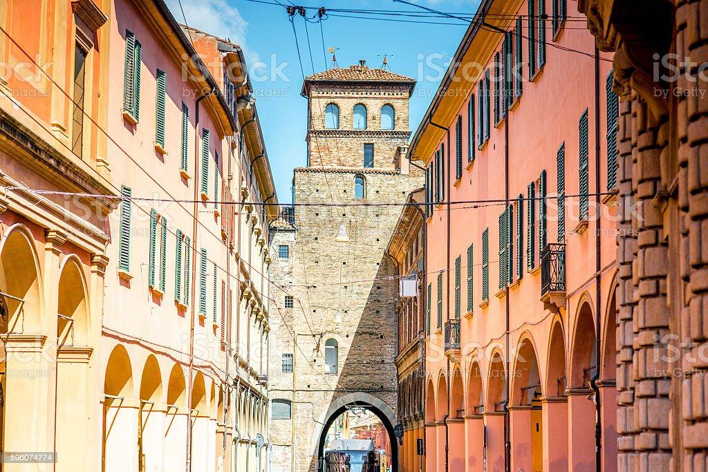 Bologna street view royalty-free stock photo