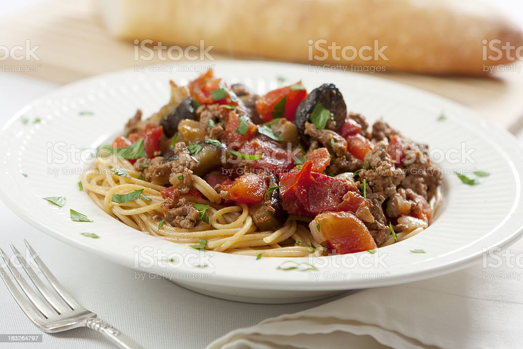 Bolognese Sauce stock photo