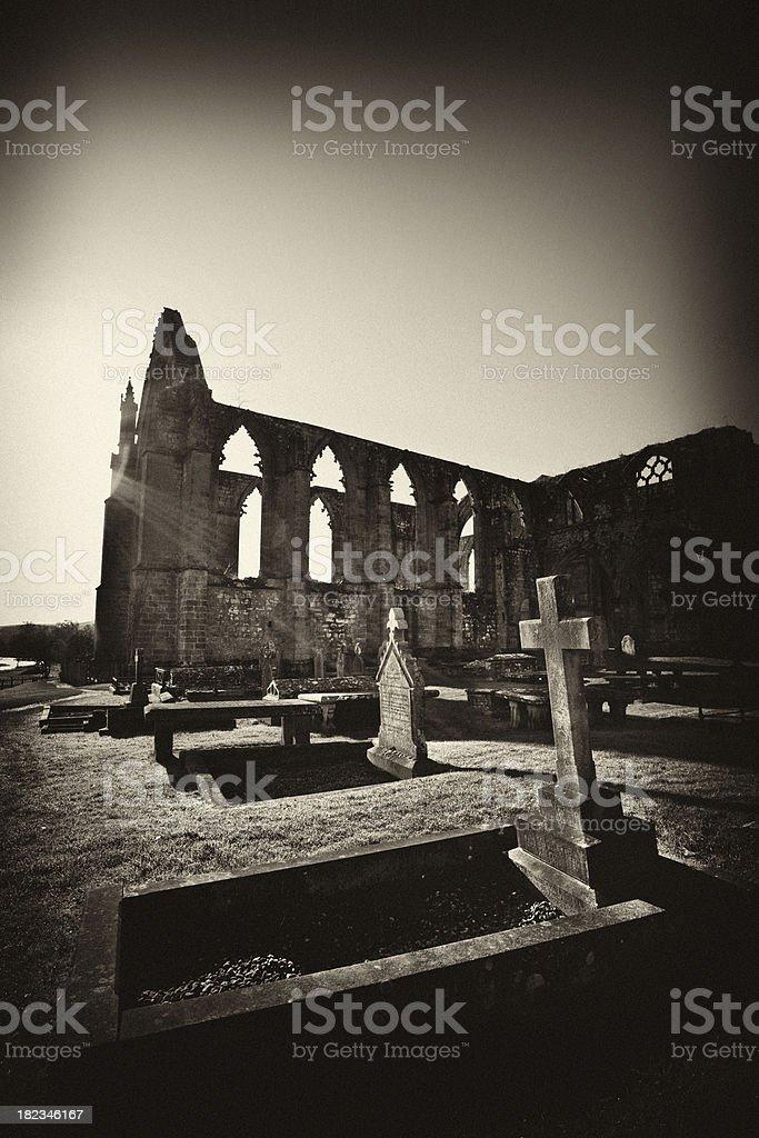 Bolton Abbey North Yorkshire royalty-free stock photo