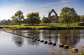 Bolton Priory in Balton Abbey, England