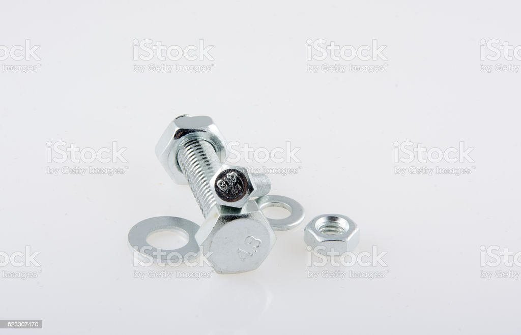 Bolts Nuts And Washers Stock Photo - Download Image Now - iStock