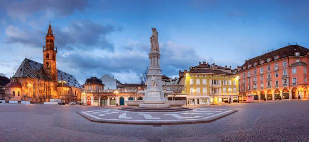 Bolzano, Italy. stock photo
