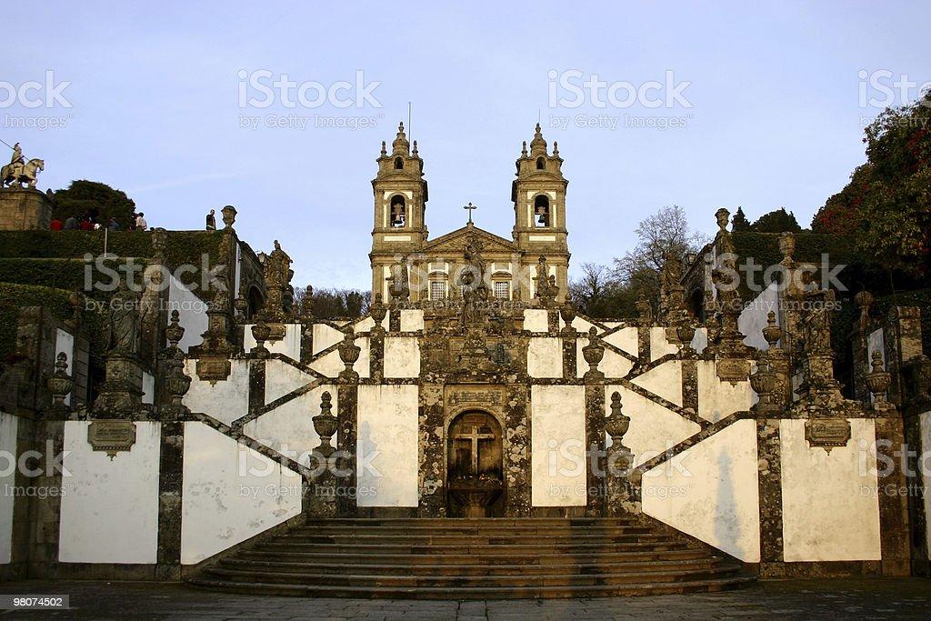 Bom Jesus de Braga, Portugal royalty-free stock photo