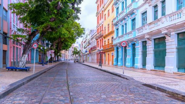 Bom Jesus Street in Recife, Pernambuco, Brasilien – Foto