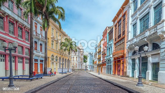 One of the most beautiful and famous street in Recife/Brazil