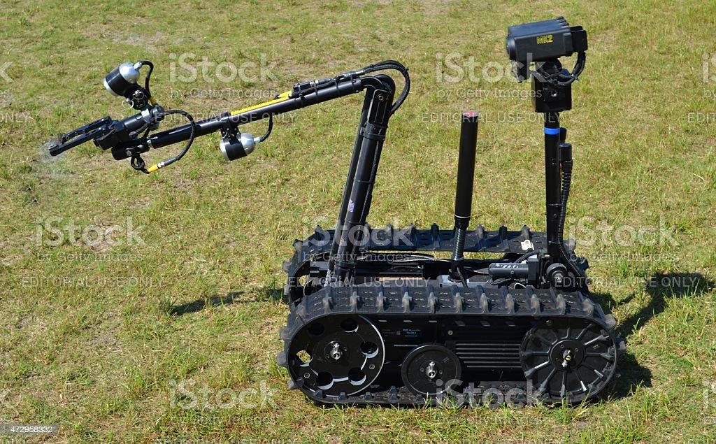 TALON Bomb Disposal Robot stock photo